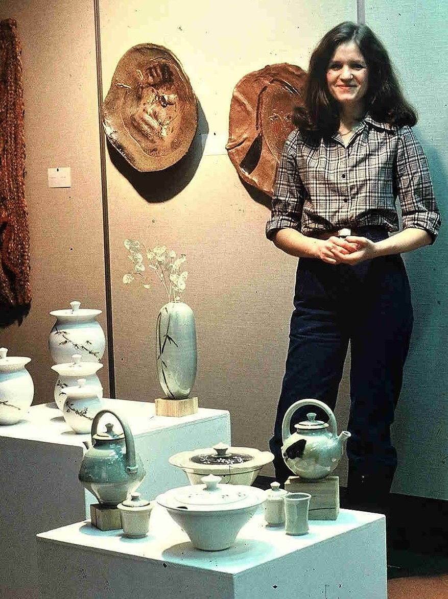 Valerie Metcalfe. 1974. Her Thesis Exhibition at the University of Manitoba.
